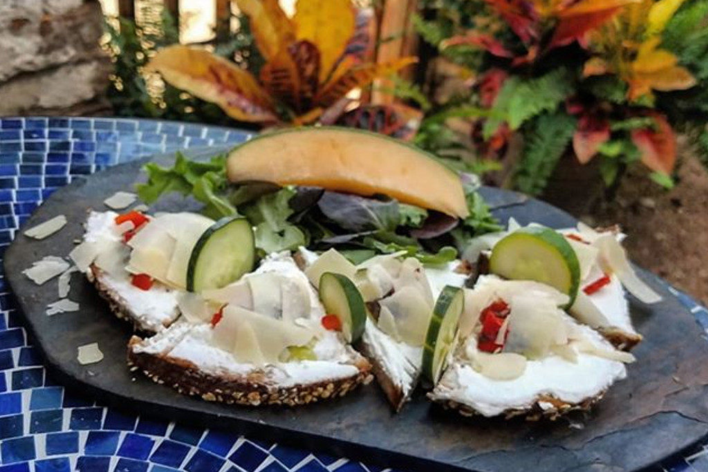 Goat Cheese Tartine